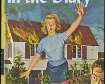 Vintage Nancy Drew The Clue in the Diary, Mystery Book, Girl Detective Series, 1960s