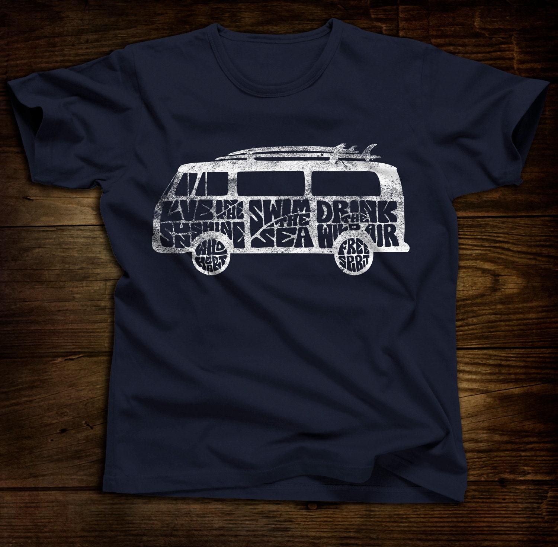 magic bus vw bus unisex tshirt. Black Bedroom Furniture Sets. Home Design Ideas