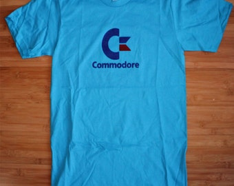 80s Style Commodore Computer American Apparel Shirt Nerd