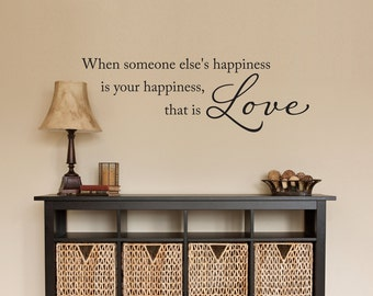 That is Love Wall Decal - Love Decal Phrase - Medium