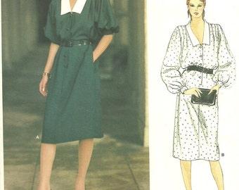 Vogue 1140 Paris Original // Designer Sewing Pattern By Givenchy // Dress / Size 12 Bust 34