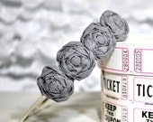 Rosette Headband - Small Flowers Headpiece - Choose your Color