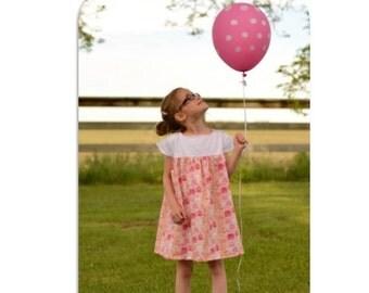 Seashore Dress, Top & Tunic PDF sewing pattern 2T-8