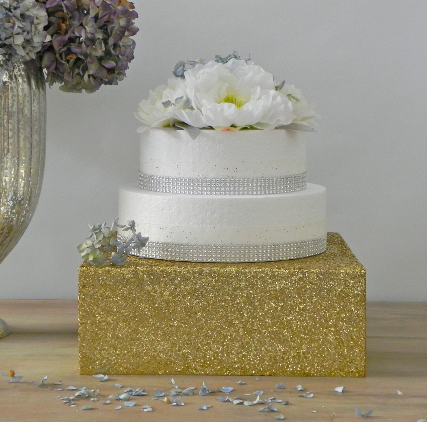 22 Wedding Cake Stand Bling Gold Glitter Wedding