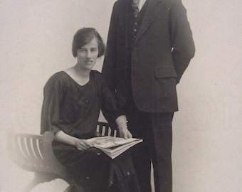 Vintage Photo - 1920's Couple