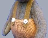 Alistair Miniature Teddy Bear E-pattern