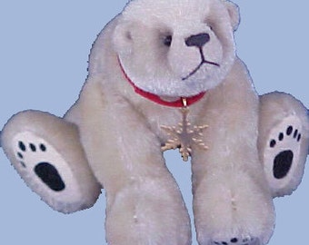 Nanook PDF miniature polar bear pattern