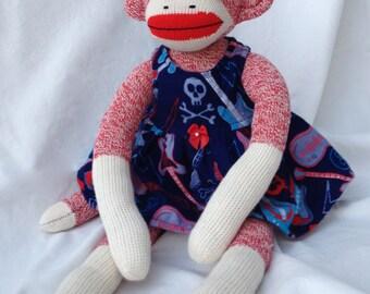 Rock Star! Sock Monkey