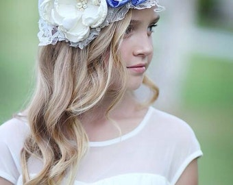 Once Upon a Dream Couture Flower Headband or Sash