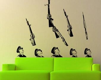 Vinyl Wall Decal Sticker ROTC Drill Team 5236B