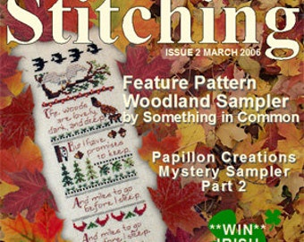 Issue 2 The Gift of Stitching Cross Stitch Magazine