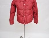 vintage down jacket SIERRA DESIGNS puffy jacket SMALL
