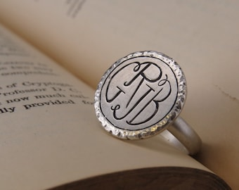 Popular Items For 4 Initial Monogram On Etsy