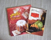 America's Home Cooking Promo Cookbook and Gifts from the Kitchen Bonus Booklet / 2 Paperback Cookbooks / Cookbook Collector Foodie Gift Idea