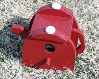Birdhouse Teapot  BUILT TO ORDER