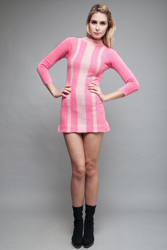 Micro Sweater Dress