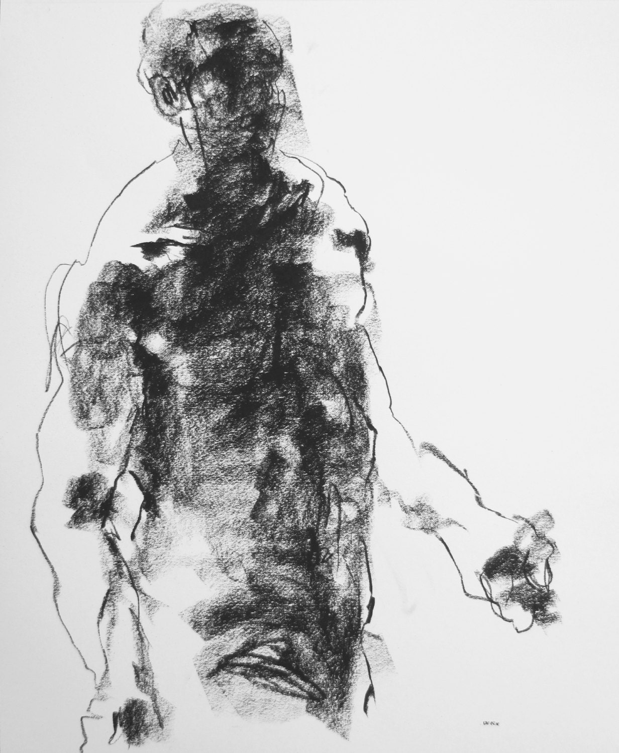 It's just a photo of Insane Figure Drawing Male