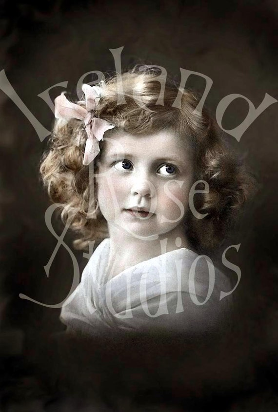 Sadie-Vintage Little Girl-Digital Image Download