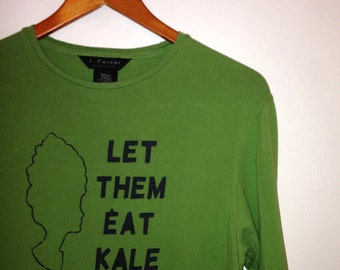 FREE US SHIPPING - Let Them Eat Kale, Women's Small