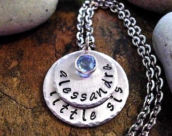 Sister Jewelry, Little Sister Jewelry, Little Sis Jewelry, Personalized Jewelry, Jewelry for Little Sis