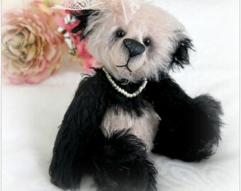 Instant Download Bear Pattern - Abby Panda Bear by Bosley Bears