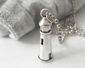 Lighthouse Necklace Nautical Jewelry Women Guy Jewelry Teen Boy Teen Girl Gift Charm