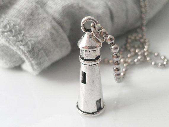 sale jewelry lighthouse necklace nautical jewelry mens jewelry