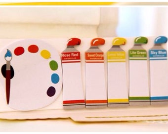 Colorful paint Sticky Post It Memo Note Pad 90 sheets SS714