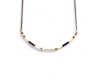 Capitola Necklace : Black
