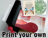 The most affordable ketubah ever - custom tailored just for you! Quick simple download, print your own ketubah. No shipping!