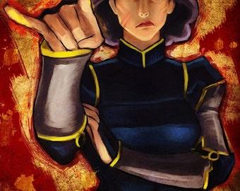 Legend of Korra: Lin Bei Fong Poster
