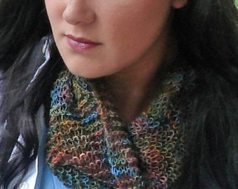 Spring Knits - The Parallelogram Spiderweb Scarf - Knitting Pattern