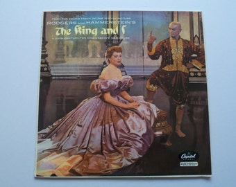 EX+! 1956 MONO Uk 1st Pressing - The King and I - Original Motion Picture Soundtrack - LP Vinyl Record Album - Rodgers & Hammerstein Musical