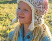 Crochet Hat Pattern: Earflap Hats for Men, Women, Girls, Boys, Babies (INSTANT DOWNLOAD)