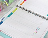 2015 Daily Planner Printable Pages - INSTANT DOWNLOAD PDF
