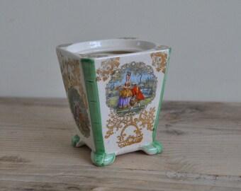Vintage Lancaster small pot holder - Storage jar no lid - 975