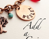 Add a Personalized Coin to Your Previously Purchased Bracelet