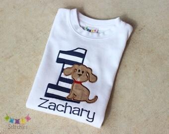 Puppy Birthday Shirt - Dog Birthday Party Shirt - PERSONALIZED