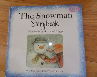 The Snowman Storybook by Raymond Briggs -   vintage children's book. -  1990 -  Snowman