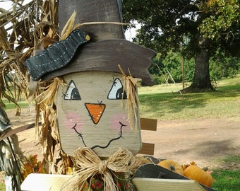 Wooden Scarecrow or Garden Rabbit