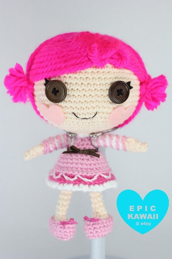 Small Amigurumi Doll Pattern : PATTERN: Little Toffee Crochet Amigurumi Doll by epickawaii