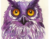"Art Print of my original illustration "" The Owl """