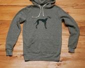 supa fly Greyhound Hoodie, Greyhound Sweater, Men's Sweatshirt, S,M,L,XL, XXL