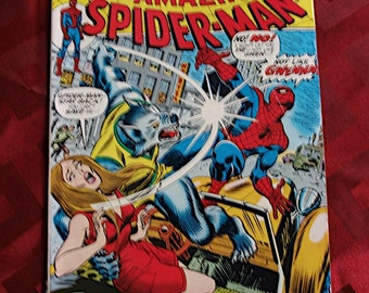 The Amazing Spider Man No 125 issued 1973 Marvel Comics Origin Of Man-Wolf John Romita