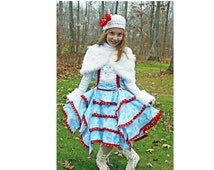 Pageant OOC Christmas Snow Man CandyLand Christmas wear Casual Wear Natural wear talent wear Custom 12m 2 3 4 5 6 8 9 10
