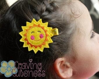 Sun Hair Clip--Meet Miss Rae