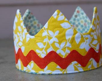 Fabric Crown / Birthday Crown - Princess Jessica