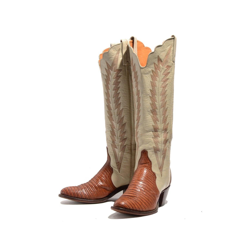 Brilliant  Mayra Distressed Chocolate Tall Round Toe Western Fashion Cowboy Boots