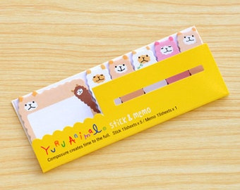 Alpaca Sticky Memo Notes