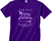 Lady Circe's Flying Ointment Tee - Adult Small - 5X